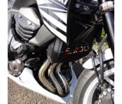 Grille de radiateur Z800 RS STYLE British avec grille anti-gravillons