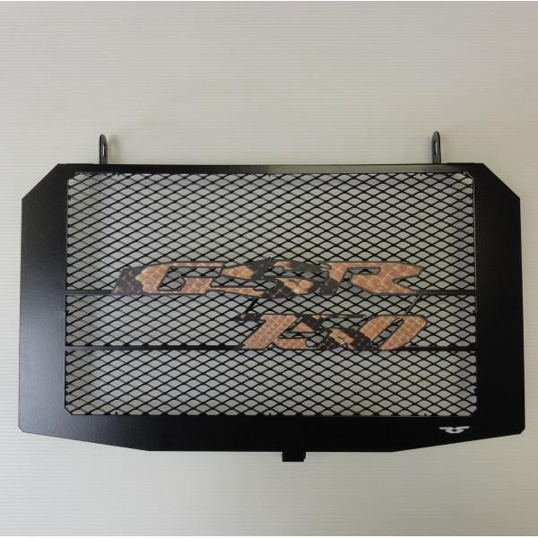 Grille de radiateur gsr750 rs python avec grille anti gravillons cs diffusion - Grille de radiateur gsr 600 ...