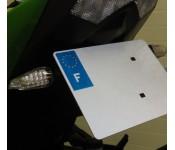 Support de plaque Z1000 2010-2011